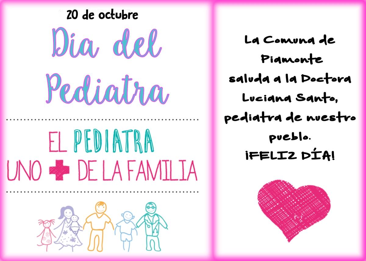 Día Nacional de la Pediatría