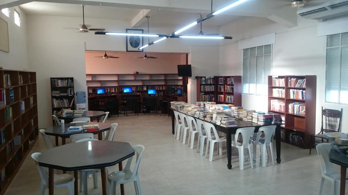 """Asamblea en la Biblioteca Popular """"San Martín"""""""
