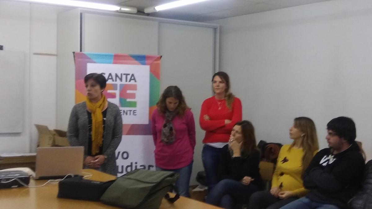 Se presentó el Plan Vuelvo a Estudiar Virtual en Piamonte