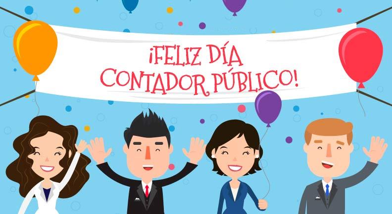 Feliz día del Contadora Publico