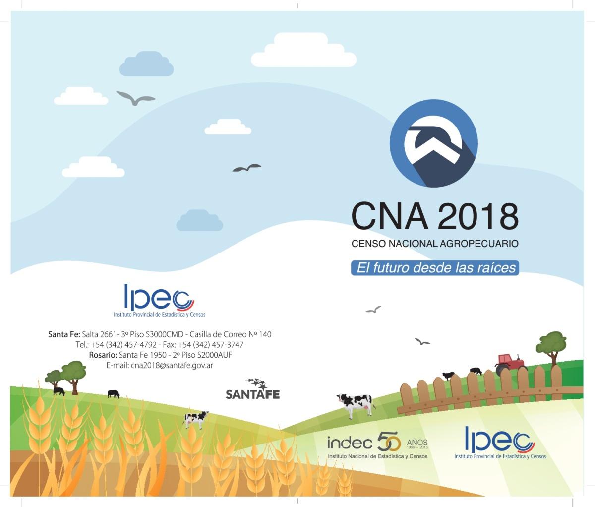 Convocatoria de censistas y auxiliares para el Censo Nacional Agropecuario 2018