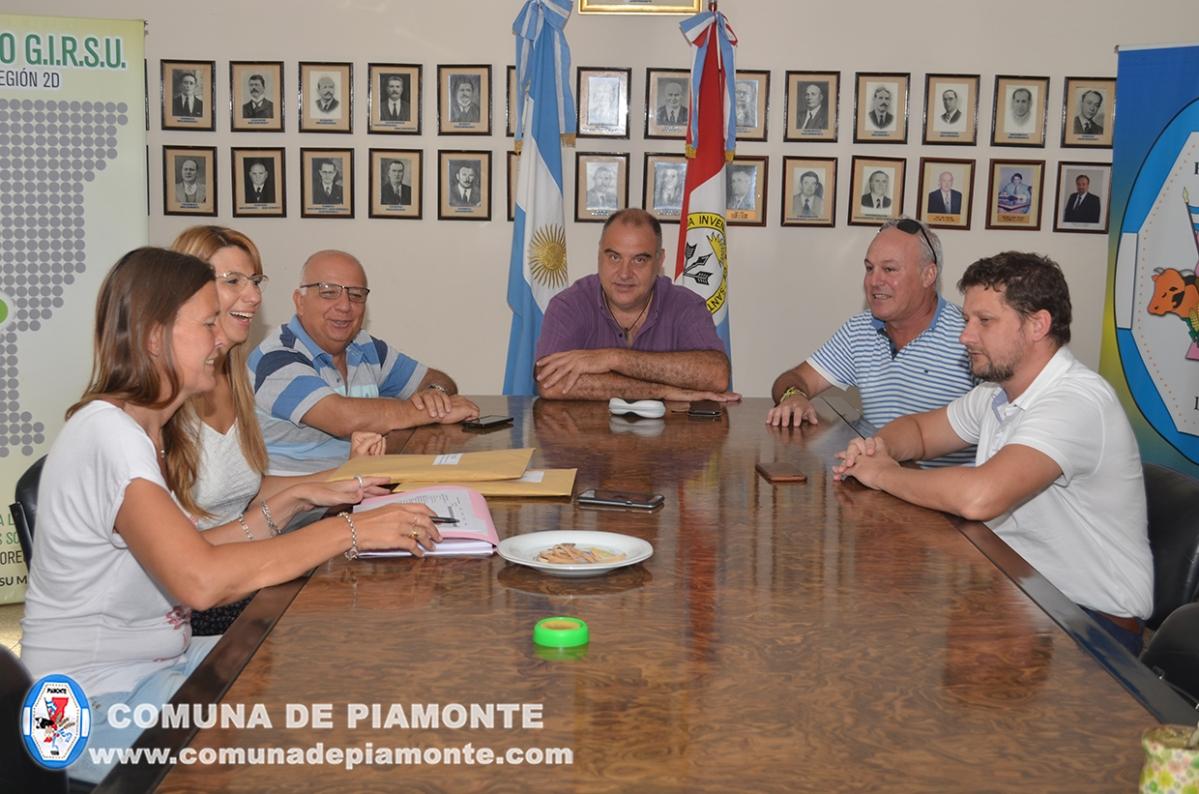 La Comuna de Piamonte realizará obras de pavimentación